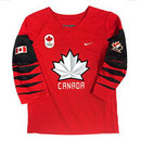 Team Canada IIHF Official 2018 TODDLER Nike Olympic Replica Red Hockey Jersey