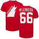 Team Canada Mario Lemieux '47 Vintage IIHF Alumni T-Shirt