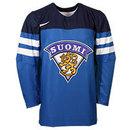 Team Finland IIHF 2016-17 Official Twill Replica Hockey Jersey