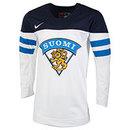 Team Finland IIHF Nike Official 2017-18 Replica White Hockey Jersey