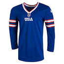 Team USA IIHF Nike 2017-18 Official Twill Replica Alternate Hockey Jersey