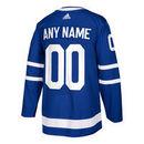 Toronto Maple Leafs ANY NAME adidas adizero NHL Authentic Pro Home Jersey