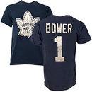 Toronto Maple Leafs Johnny Bower Vintage NHL Alumni T-Shirt