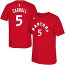 Toronto Raptors DeMarre Carroll NBA Name & Number T-Shirt - Red