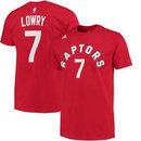 Toronto Raptors Kyle Lowry NBA Name & Number T-Shirt - Red