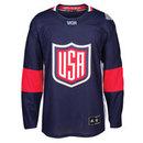 USA Hockey 2016 World Cup Of Hockey Premier Replica Blue Jersey