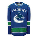 Vancouver Canucks Reebok EDGE Authentic Home NHL Hockey Jersey (Made in Canada)