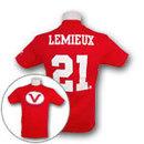 Verdun Jr Canadiens Claude Lemieux Vintage CHL Alumni T-Shirt