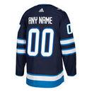 Winnipeg Jets ANY NAME adidas adizero NHL Authentic Pro Home Jersey