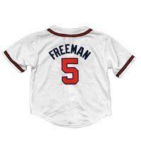 Atlanta Braves Freddie Freeman Majestic Child Home Replica Baseball Jersey