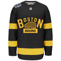 Boston Bruins 2016 NHL Winter Classic EDGE Authentic NHL Hockey Jersey (With