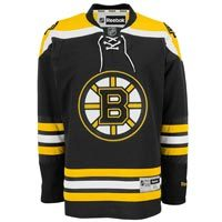 Boston Bruins Reebok Premier Replica Home NHL Hockey Jersey