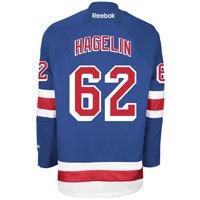 Carl Hagelin New York Rangers Reebok Premier Replica Home NHL Hockey Jersey