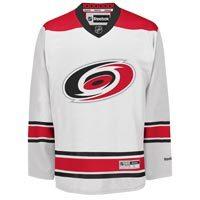 Carolina Hurricanes Reebok Premier Replica Road NHL Hockey Jersey
