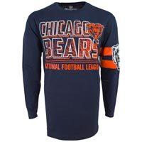 Chicago Bears NFL Bandit Long Sleeve T-Shirt