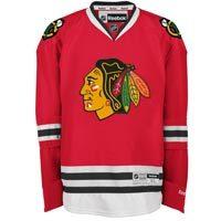 Chicago Blackhawks Reebok Premier Replica Home NHL Hockey Jersey