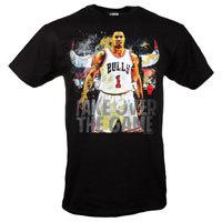 Chicago Bulls Derrick Rose See Me Score NBA T-Shirt