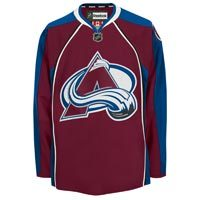 Colorado Avalanche Reebok EDGE Authentic Home NHL Hockey Jersey (Made in Canada)