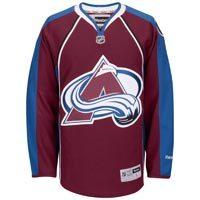 Colorado Avalanche Reebok Premier Replica Home NHL Hockey Jersey
