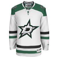 Dallas Stars Reebok Premier Replica Road NHL Hockey Jersey