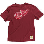 Detroit Red Wings Better Logo Fitted Super Soft T-Shirt
