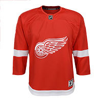 Detroit Red Wings NHL Premier Youth Replica Home Hockey Jersey