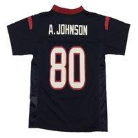 Houston Texans Andre Johnson NFL Team Apparel Child Replica Football Jersey