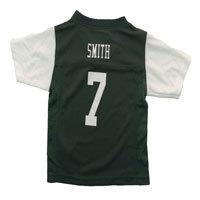 New York Jets Geno Smith NFL Team Apparel Child Replica Football Jersey