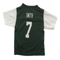 New York Jets Geno Smith NFL Team Apparel Infant Replica Football Jersey