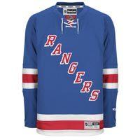 New York Rangers Reebok Premier Replica Home NHL Hockey Jersey