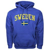 Sweden MyCountry Vintage Pullover Hoodie (Royal)