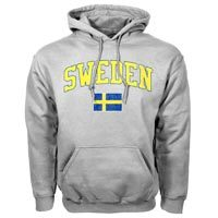 Sweden MyCountry Vintage Pullover Hoodie (Sport Gray)