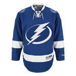 Tampa Bay Lightning Reebok Premier Replica Home NHL Hockey Jersey