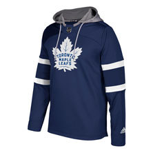 Toronto Maple Leafs Adidas NHL Platinum Jersey Hoodie