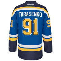 Vladimir Tarasenko St. Louis Blues Reebok Premier Replica Home NHL Hockey Jersey