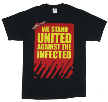 We Stand United - Zombieland T-shirt