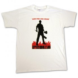 Shaun of the Dead Silhouette Tee