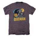 Men's Batman T-Shirt with Vintage Night Owl Graphic