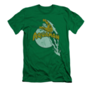 Men's Aquaman T-Shirt with Splash Graphic