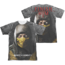 Men's Mortal Kombat X T-shirt with Finish Him graphic