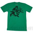 Ames Bros Leprechaun vs Jackalope Graphic T-Shirt