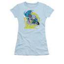 Women's Batgirl T-shirt with Batgirl Motorcycle graphic