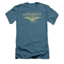 Men's Jurassic Park T-Shirt with Faded Wingman Graphic