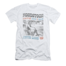 Men's Woodstock T-Shirt with Vintage Rider Graphic