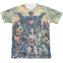 Men's Justice League T-Shirt with Power Graphic
