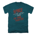 Men's Star Trek T-Shirt with Space Travel Graphic
