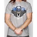Jinx Starcraft II Terran Lock and Load T-Shirt