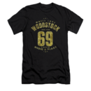 Men's Woodstock T-Shirt with Vintage White Lake Graphic