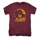 Men's The Flash T-Shirt with Vintage Flash Circle Graphic