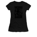 Women's Batman T-shirt with vintage Caped Crusader graphic